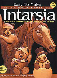 book of intarsia woodworking project patterns pattern how ...