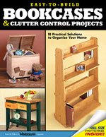 Easy-To-Build Bookcases & Clutter Control Projects