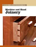 Machine and Hand Joinery Book