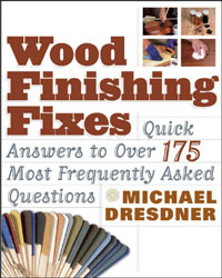 Wood Finishing Fixes