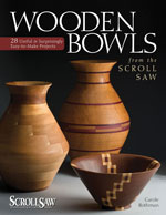 Wooden Bowls from the Scroll Saw by Carole Rothman
