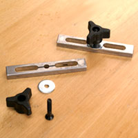 Miter Slot Fixture Locking Kit