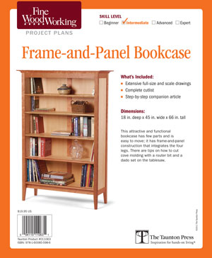 fine woodworking 18 bookcase plans collection | Quick Woodworking ...