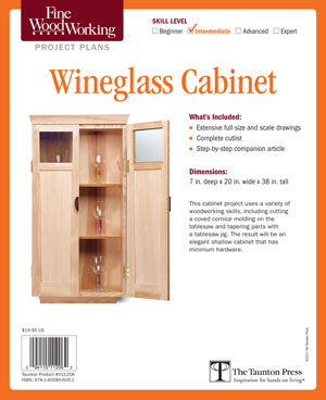 Wine Glass Cabinet Project Plan