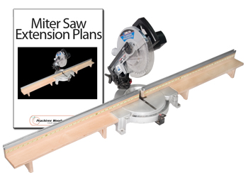 Miter Saw Fence Extension Plans