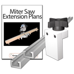 Miter Saw Fence Extension Plans & Kits