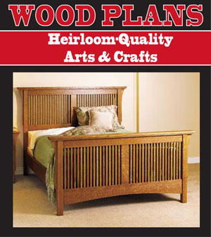 Heirloom-Quality Arts & Crafts Woodworking Plan