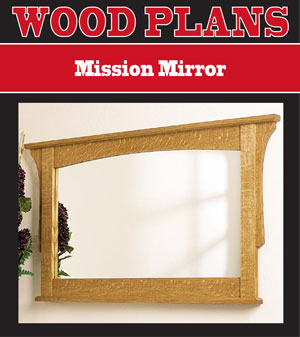 Mission Mirror Woodworking Plan