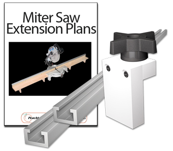 Miter Saw Fence Extension Kit