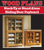 Stack-Up or Stand-Alone Sliding-Door Cupboard