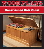 Cedar-Lined Oak Chest