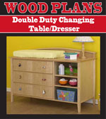 Double Duty Changing Table/Dresser