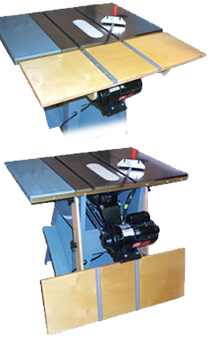 Table Saw Extension Table