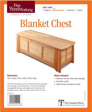 Blanket Hope Chest Plans