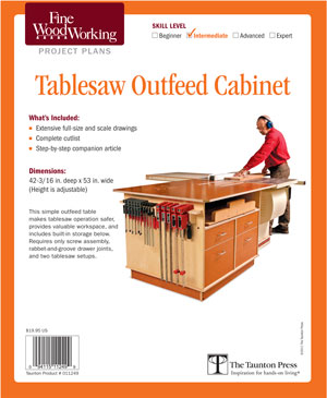Tablesaw Outfeed