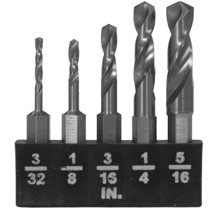Peachtree 803 Mini Drill Bit 50 Piece Set