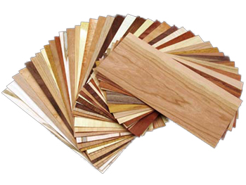 Mixed Variety Domestic & Exotic Packaged Veneer