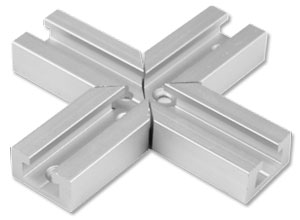 "1/4"" Mini Track Cross Points"