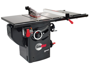 "3 HP Professional Cabinet Saw with 30"" Premium Fence System"