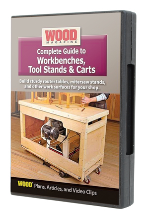Complete Guide to Workbenches, Tool Stands and Carts