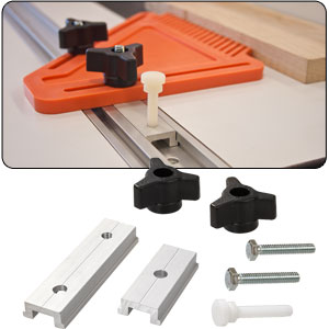 Miter T-Track Locking Kit