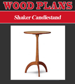 Shaker Candlestand