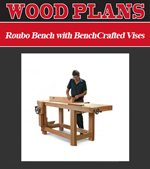 Roubo Bench with BenchCrafted Vises
