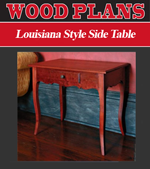 Louisiana Style Side Table