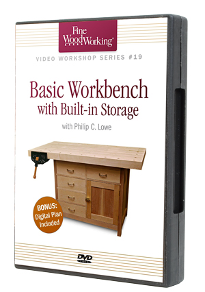 Basic Workbench with Built-in Storage