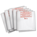 Clear Plastic Dust Collector Replacement Bag 5 Pack