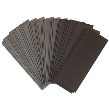 "9"" x 3.6"" Assorted Grit Sandpaper Sheets"