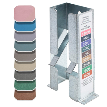 "Soft Touch 2"" x 2"" Sanding Pads with Galvanized Steel Dispenser"