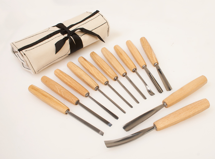 12 Piece Carving Chisel Set