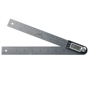"iGaging Digital Angle Protractor with 12"" Rule"