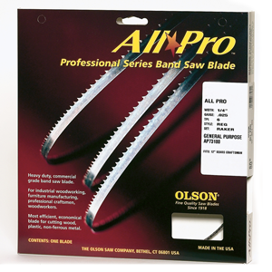Olson All Pro Professional Band Saw Blades