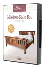 Mission-Style Bed