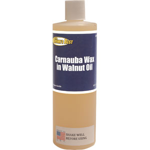 Ron Brown's Best Carnauba Wax in walnut Oil