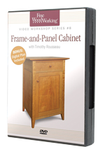Build a Frame and Panel Cabinet