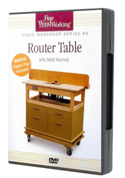 Build a Router Table DVD