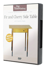 Fir and Cherry Side Table