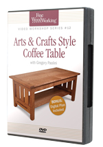 Arts &Arts & Crafts Coffee Table