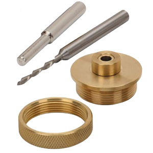 Whiteside Solid Brass Router Inlay Kit / 9500