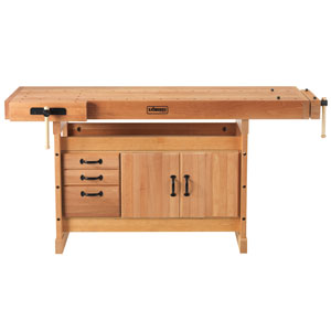 Scandi Plus Work Bench with Cabinets - SJO-66736K