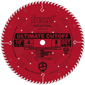 "10"" Industrial Ultimate Cut-Off Blade - LU85R010"
