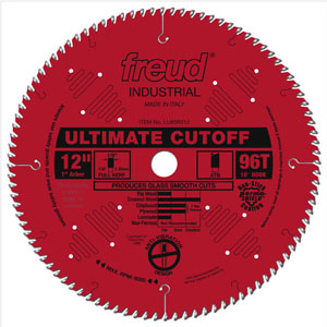 "12"" Industrial Ultimate Cut-Off Blade - LU85R012"