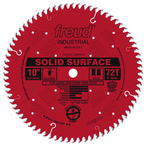"10"" Industrial Solid Surface Blade - LU95R010"