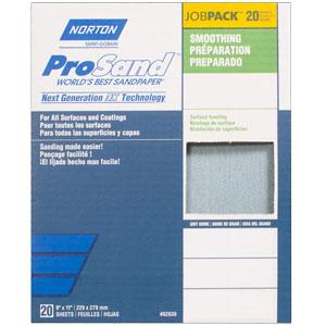 "Norton ProSand Dry 9"" x 11"" Sanding Sheet"