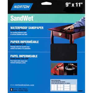 """Wet / Dry 9"""" x 11"""" Sanding Sheet"""