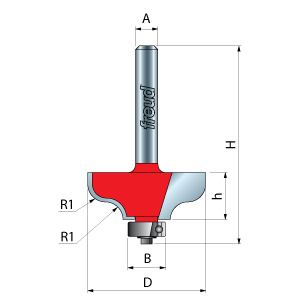 Ogee Filet Router Bits