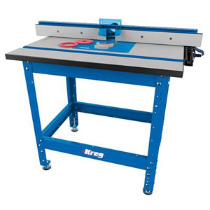 Woodworking supplies kreg precision router table w stand fence keyboard keysfo